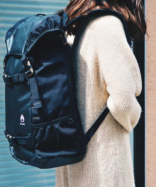 LANDLOCK III BACKPACK ALL BLACK NYLON
