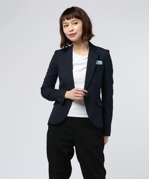 【テレビで話題】 【セール】軽量TWペーパープレス ストライプ2WAYストレッチ Suit 1BJK(テーラードジャケット) Perfect Suit FActory(パーフェクトスーツファクトリー)のファッション通販, surou web shop:f2e6239a --- calligraphyindia.com
