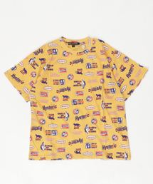 HYS FANTASTIC総柄 Tシャツ【L】イエロー