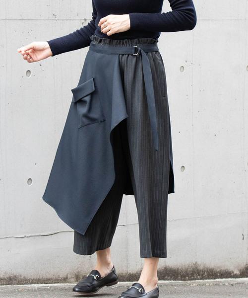 特売 LaSRIC/2WAYラップスカート×ガウチョパンツ(スカート)|miniyu(ミニュウ)のファッション通販, ムラカミビジネス 特選工房:af4178ec --- 5613dcaibao.eu.org