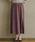 MAYSON GREY(メイソングレイ)の「【socolla】スウェードラップスカート(スカート)」|パープル