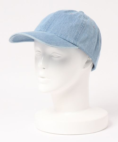 【newhattan】Denim Baseball Low Cap