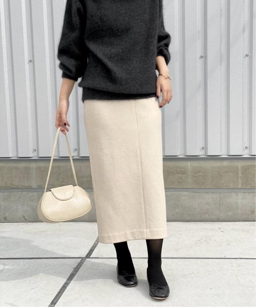 Spick & Span(スピックアンドスパン)の「リバータイトスカート◆(スカート)」|ナチュラル