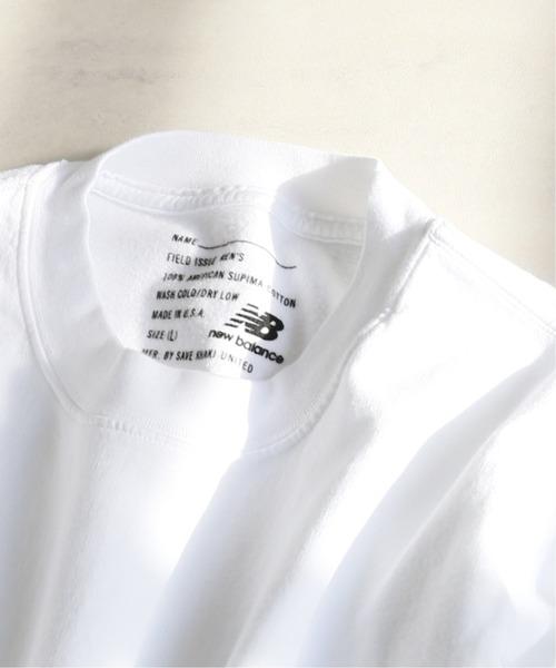 SAVE KHAKI UNITED(セーブカーキユナイテッド)の「【New Balance×SAVE KHAKI UNITED】L/S SUPIMA FLEECE SWEAT(スウェット)」 ホワイト