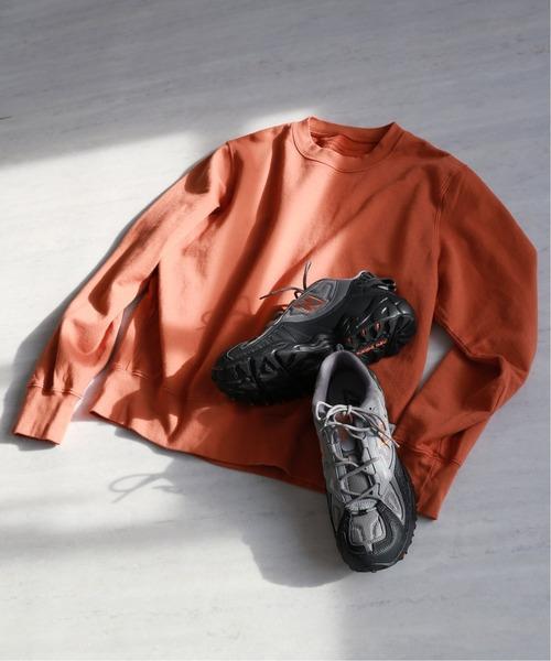 SAVE KHAKI UNITED(セーブカーキユナイテッド)の「【New Balance×SAVE KHAKI UNITED】L/S SUPIMA FLEECE SWEAT(スウェット)」 オレンジ