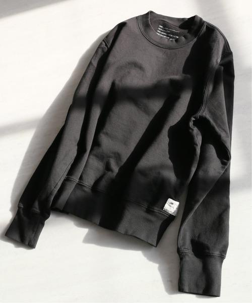 SAVE KHAKI UNITED(セーブカーキユナイテッド)の「【New Balance×SAVE KHAKI UNITED】L/S SUPIMA FLEECE SWEAT(スウェット)」 ブラック