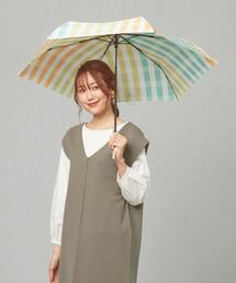 <w.p.c> L/チェック 折りたたみ傘