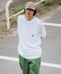 別注 [ ガンホー ] GUNG HO WORKERS 半袖 ポケット Tシャツ カットソー †