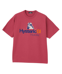 HYSGL プリント Tシャツ