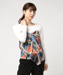 UNRELISH(アンレリッシュ)のスカーフビスチェカットトップス(Tシャツ/カットソー)