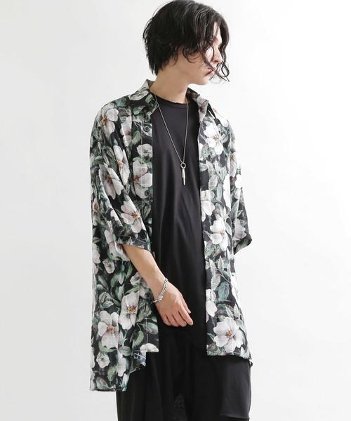 2019新作モデル 花柄シースルーシャツ(シャツ/ブラウス)|minsobi(ミンソビ)のファッション通販, 新作人気モデル:6d92fc2e --- skoda-tmn.ru