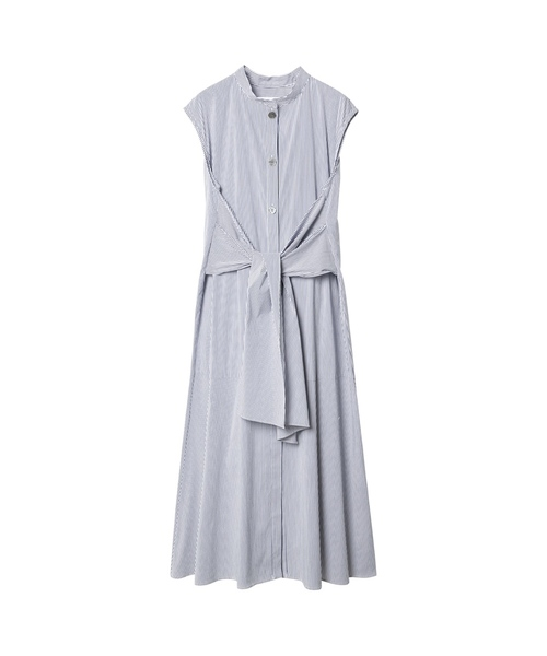 Tie Front Sleeveless Dress