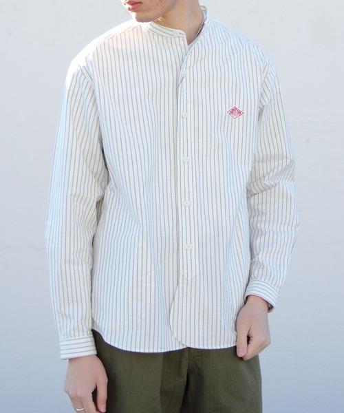 DANTON/ダントン オックススタンドシャツプレイド OX STAND SHIRTS PLAID(メンズ)#JD3607TRD