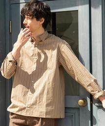 オルタネイトストライプレギュラーシャツ