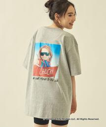 【WEB限定】 <info. BEAUTY&YOUTH> CHILDS PLAY Gray TEE/Tシャツ
