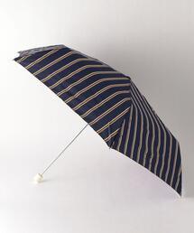 <w.p.c> レディ ストライプ 折りたたみ傘