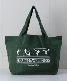 <Sporty&Rich>HEATLTH &WELLNESS TOTE BAG/バッグ.