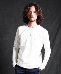 SABLE CLUTCH(セーブルクラッチ)のBACK BORDER LONG SLEEVE TEE(Tシャツ/カットソー)