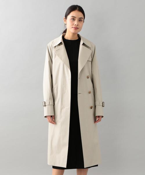 本物の <Spring Coat>ベンタイル比翼トレンチコート, Better-goods co 7db2300e