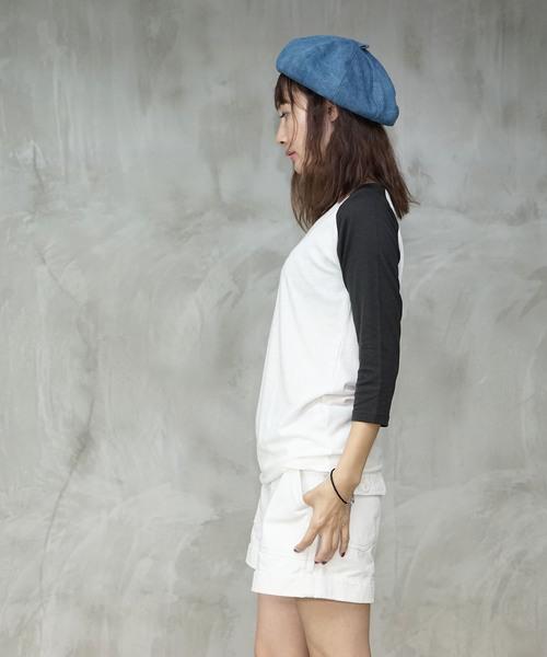 トライブレンドラグラン7分袖Tシャツ|TRUSS(トラス)