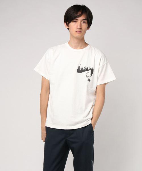REMI RELIEF(レミレリーフ)16天竺半袖Tシャツ(ファイヤー)