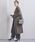 UNITED ARROWS(ユナイテッドアローズ)の「UBCS リバー スタンドVノーカラー コート19AW†(その他アウター)」|オリーブ