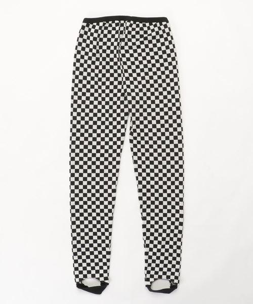 HYSTERIC GLAMOUR(ヒステリックグラマー)の「CHECKER FLAG ジャガードトレンカ(その他パンツ)」|詳細画像