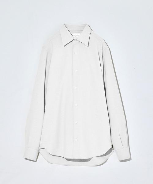 【OnE】コットンダブルフェイスシャツ