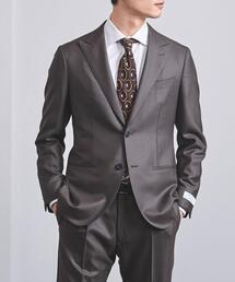 <UNITED ARROWS> サージ ピークド 2B スーツ  S-MODEL