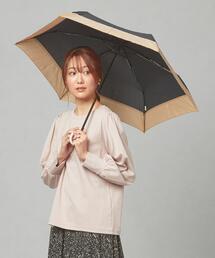 <because> プレーン バイカラー 折りたたみ傘