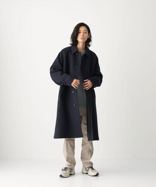 <CITEN(シテン)>ウール バルカラーコート