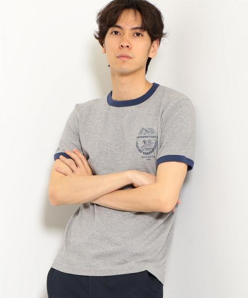 [マリブシャツ] SC★MALIBU SHIRTS ISC 1986 Tシャツ ◆