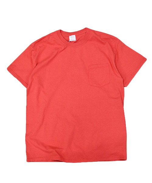 TOWNCRAFT(タウンクラフト)の「【WEB限定】TOWN CRAFT/タウンクラフト 6 OZ JERSEY POCKET SS TEE(Tシャツ/カットソー)」 レッド