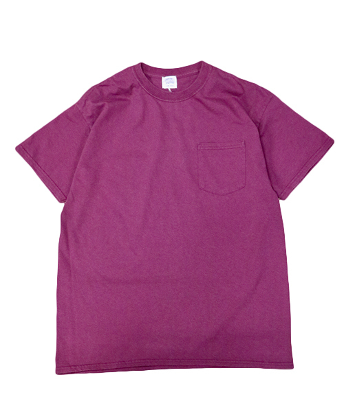 TOWNCRAFT(タウンクラフト)の「【WEB限定】TOWN CRAFT/タウンクラフト 6 OZ JERSEY POCKET SS TEE(Tシャツ/カットソー)」|マルーン