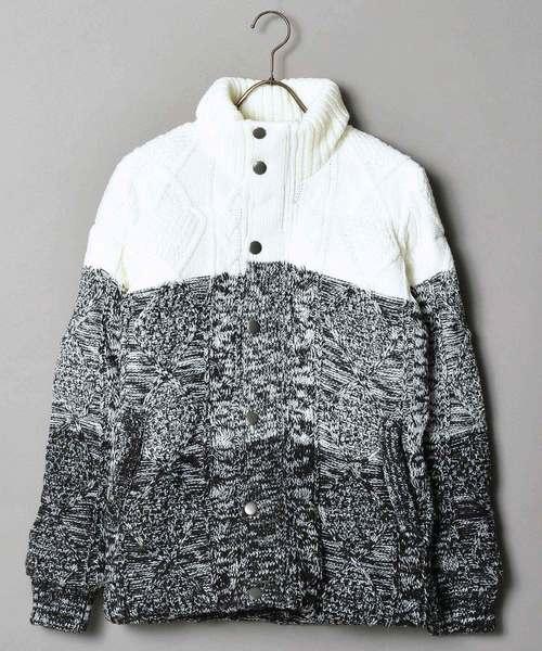 世界的に有名な 【セール】JUDGEMENT ケーブルニット中綿ブルゾン(ブルゾン)|JACKROSE(ジャックローズ)のファッション通販, イワシロマチ:d0fe1b93 --- steuergraefe.de