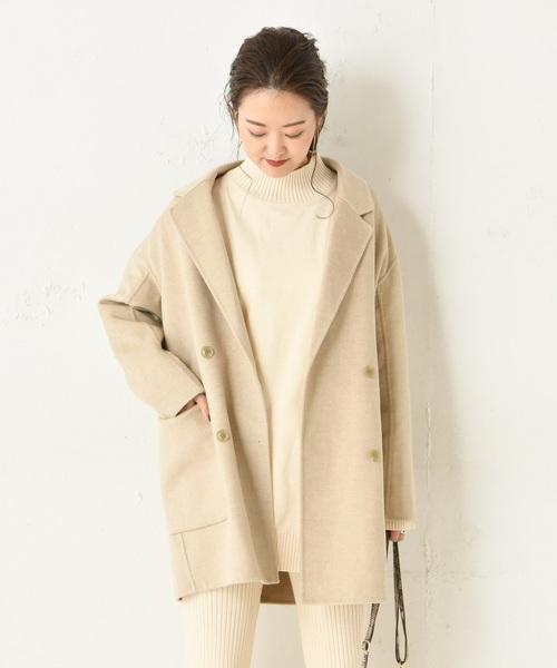 2019特集 ダブルチェスターコート(テーラードジャケット)|DouDou(ドゥドゥ)のファッション通販, 富山県:642b7048 --- blog.buypower.ng
