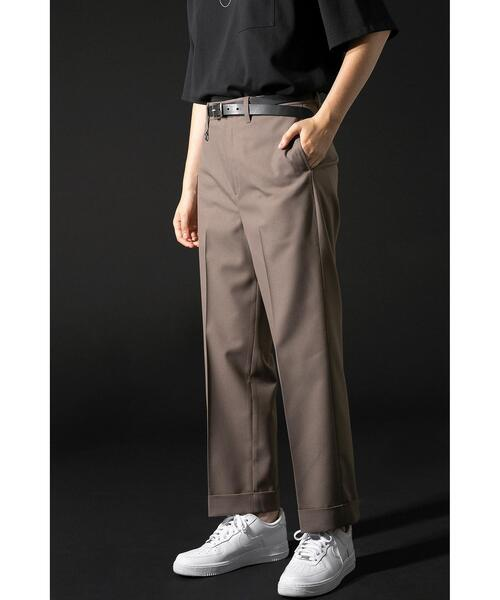 <monkey time> TW TWILL W ANKLE TROUSERS/トラウザーズ