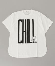 CHILL BEAR オーバーサイズTシャツホワイト系その他2