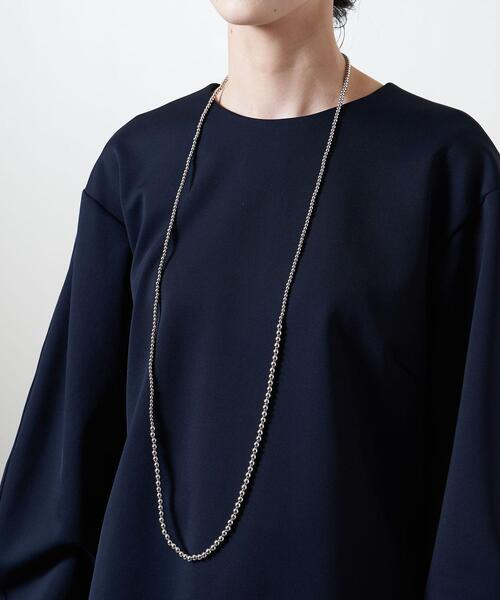 <UNITED ARROWS>MIX MT/BALL 110 ネックレス