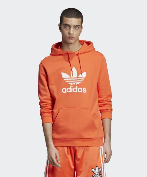be00b1552786a adidas(アディダス)の「トレフォイル フーディー  TREFOIL HOODIE  アディダスオリジナルス(