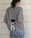 tiptop(ティップトップ)の「バックリボンプルオーバー(Tシャツ/カットソー)」|詳細画像