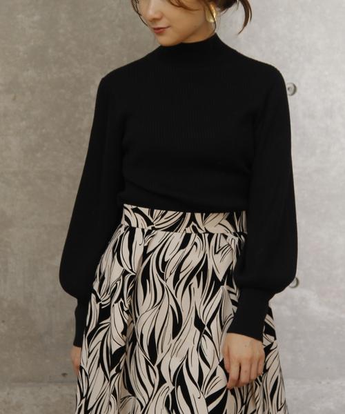 2019年新作入荷 袖ボリュームリブニット(ニット/セーター)|TIARA(ティアラ)のファッション通販, PotaricoPublicc:efe84742 --- 5613dcaibao.eu.org