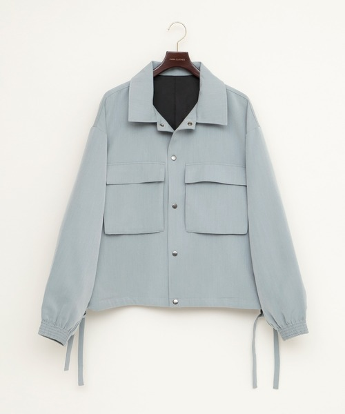 オーバーサイズ 袖ボリューム CPO オーバーサイズ コーチ ジャケット/ショートブルゾン/フライトジャケット(EMMA CLOTHES)