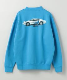 KAR L'Art de L'Automobile(カー ラート ド ロートモービル)CREW MOCK SWEAT