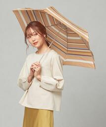 <because> マルチボーダー 折りたたみ傘