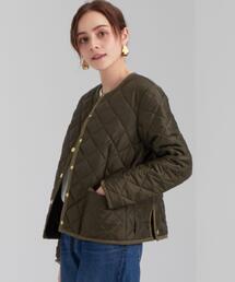 [ 別注 トラディショナル ウェザーウェア ] SC Traditional Weatherwear × GLR ARKLEY QUILT ショート コート