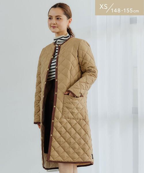 【WEB限定】【別注】[XS/H148-155�p]<Traditional Weatherwear> ARKLEY ロングコート キルティング
