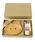 SPICE OF LIFE(スパイス オブ ライフ)の「プチママン ギフトボックス入りキッズ食器4点セット (トレイ+フォーク&スプーン+マグカップ) ラビット/アヒル/エレファント/カー/キャット/ロケット(食器)」|ベージュ系その他5