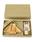 SPICE OF LIFE(スパイス オブ ライフ)の「プチママン ギフトボックス入りキッズ食器4点セット (トレイ+フォーク&スプーン+マグカップ) ラビット/アヒル/エレファント/カー/キャット/ロケット(食器)」|ベージュ系その他6