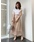 Re.Verofonna(ヴェロフォンナ)の「2WAYプリーツスカート(スカート)」|ピンク